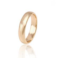 13635 Xuping simple nouvelles bagues de fiançailles en or