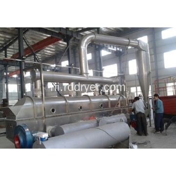 ZLG Industrial vibrating fluid bed citric acid dryer