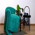 Lamb Wool Quilt Cushion Four Seasons Indoor Blankets