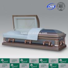 Casket Suppliers LUXES American Style 18ga Metal Casket Coffins