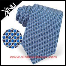 Correia de gravata de seda exclusiva