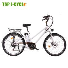 Top e-cycle CE approved e-city e-bike electric bicycle cycle vehicle e bike 26 inch woman
