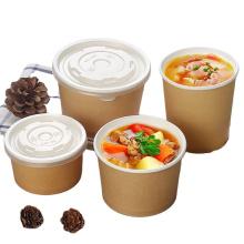 Best quality paper soup bowl custom disposable bowl wholesale