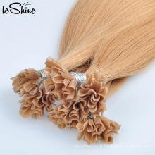 Extensions de cheveux alignées par cuticule humaine à double extrémité de Remy à extrémité élevé aucun embrouillement