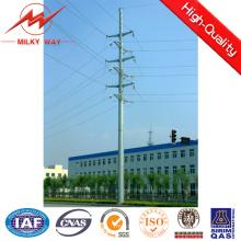 Franch Standard 30kv 12m 500-1500dan Steel Poles Safety Factor 2.1