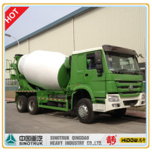 Camión mezclador cúbico HOWO 8