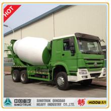 Caminhão do misturador cúbico de HOWO 8