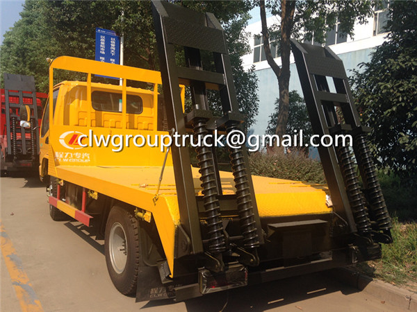 Low Bed Flat Trailer