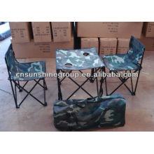 Muebles al aire libre Camping sillas mesas sistemas, Camo senderismo sistemas.