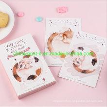 Cute Cat Design 30PCS Set Paper Greeting Gift Card
