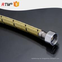 J7 aluminiumdrahtgeflechtschlauch flexibler schlauch für wassererhitzer ss geflochtener flexibler schlauch