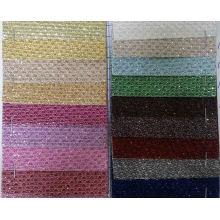 Pequeños círculos de papel tapiz de textiles para la decoración