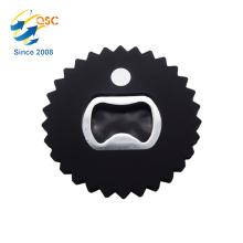 Cheap bulk round serrated metal hardware wine bottle opener