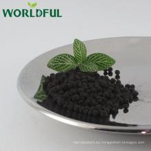 fertilizante agrícola pelotita de humato de sodio