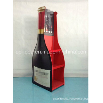 Floor Type Wine Exhibition Stand / Display for Red Wine Advertising