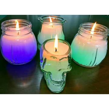 Magic Glass Candle mit Farbwechsel