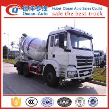 SHACMAN F3000 camião betoneira, 9 cbm camião betoneira de boa qualidade