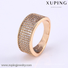 11802- Xuping nouvelle conception or bijoux anneaux à la mode