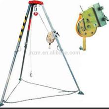 Trípode de seguridad de aluminio del rescate de Miller del equipo de seguridad con el torno de elevación