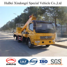 20m Dongfeng Telescopic Type Euro5 Aerial Bucket Truck for High Working