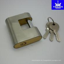 Candado de latón blindado de acero inoxidable (2107)