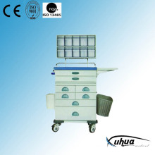 Multifunktions-Krankenhaus Medical Emergency Trolley (N-5)