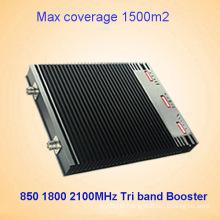 850 Dcs 1800 2100MHz 27dBm Tri Band Signal Repeater