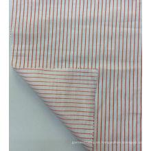 100% lino rayas a tejido estampado para ropa y Textiles para el hogar