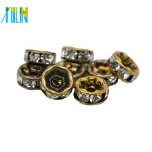 Cheap Bulk Wholesale All Size Bronze Metal Rondelle Spacer Beads For Jewelry Making