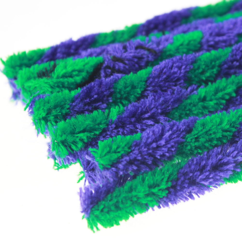 Bricolage Craft Twisted Chenille Tige Couleur verte