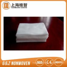 toalha de rosto de algodão não tecido projeto do cliente descartável toalha de rosto seco