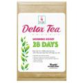 100% chá de desintoxicação à base de plantas orgânicas Chá magro chá de perda de peso (manhã chá reforço 28 dias)