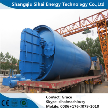 Tire Recycle Fuel Oil Plant Pyrolysis Plant