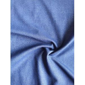 Rayon Poly Span Denim Fabric