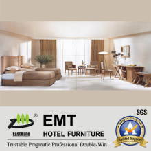 Звездная мебель для гостиниц с двумя кроватями (EMT-B0658)