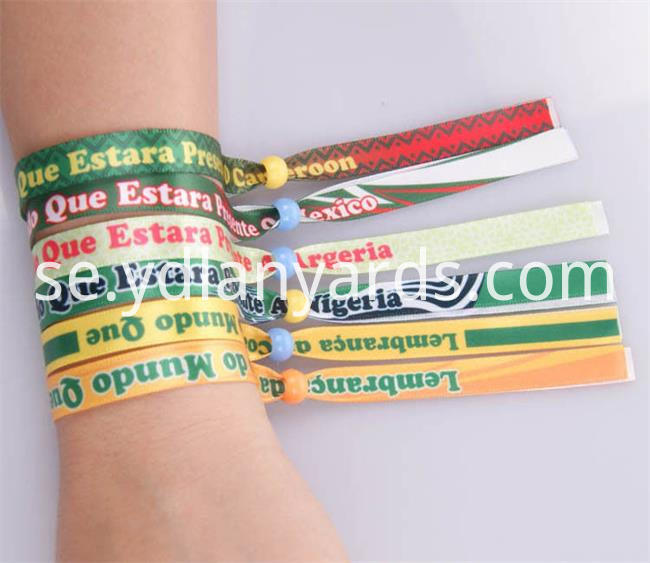 Polyester Wrist bands