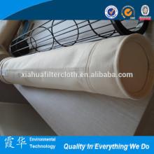 PPS sac de filtre à air pour l'industrie du ciment