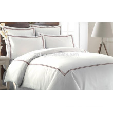 3-piece Duvet Set with Double Marrowing King Red