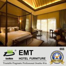 Star Hotel Высококачественная деревянная мебель для спальни (EMT-HTB08-10)