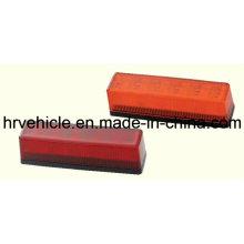 Forma rectangular Lámpara de marcación lateral para camiones