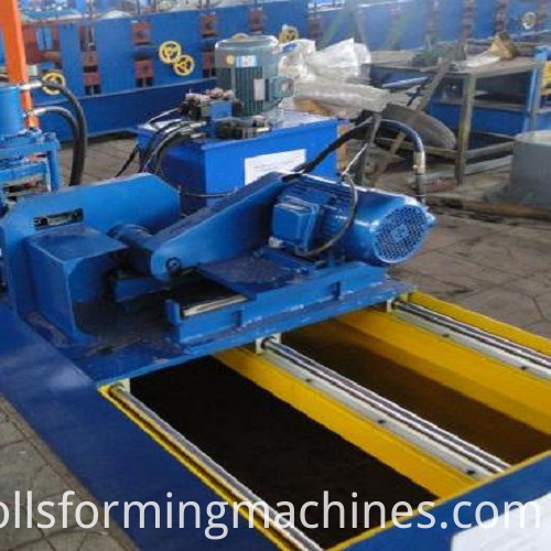 Roll Forming Machine shearing system