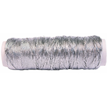 Provide silver metallic elastic cord for packaging