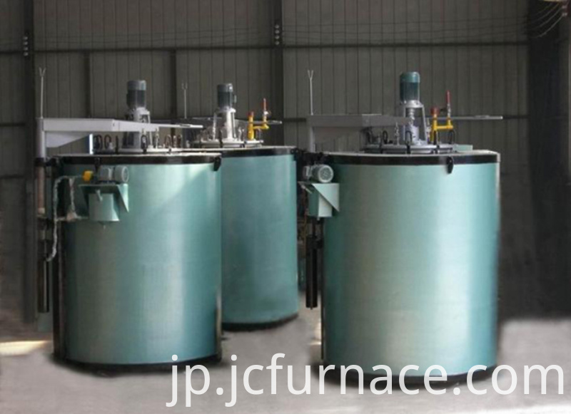 High sealing well type tempering furnace show