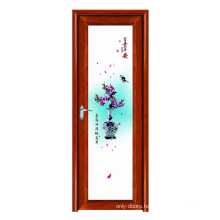 WANJIA Aluminum Frame Soundproof Acoustic Door Customized Sound Training Style Surface Graphic Technical Parts Color Design