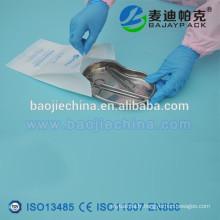 Pochette en papier à gousset médical / Sac imprimé à stérilisation