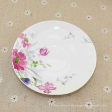 Platos de cena ovales de melamina de cerámica disponibles de diferentes capacidades