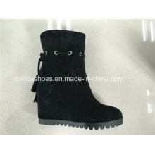 Sexy High Heels Moda Couro Comfort Lady Boots