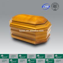 Урны для праха UN20 твердой дубовой древесины Urn люкса