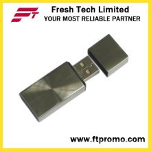 Another Style of Metal Block USB Flash Drive (D304)