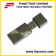 Outro estilo de bloco metálico USB Flash Drive (D304)